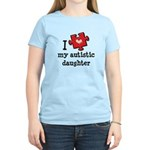 I Love My Autistic Daughter Women's Light T-Shirt