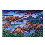 Cute Dinosaur Postcards (Package of 8)
