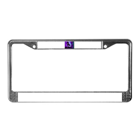 Mountain Bicycle Biking License Plate Frame