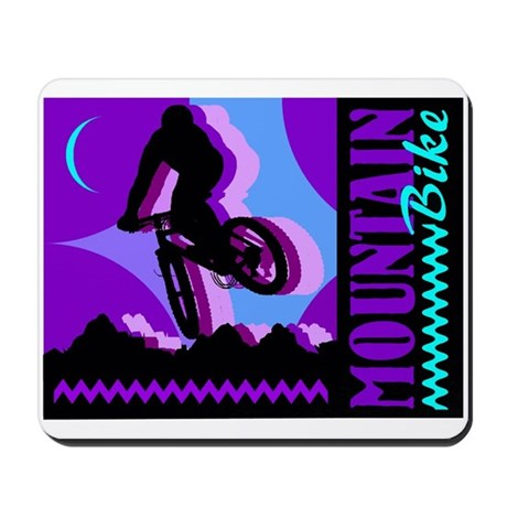 Mountain Bicycle Biking Mousepad