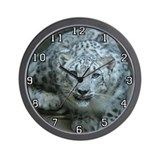 Snow Leopard M005 Wall Clock