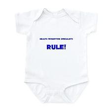 Health Promotion Specialists Rule! Infant Bodysuit