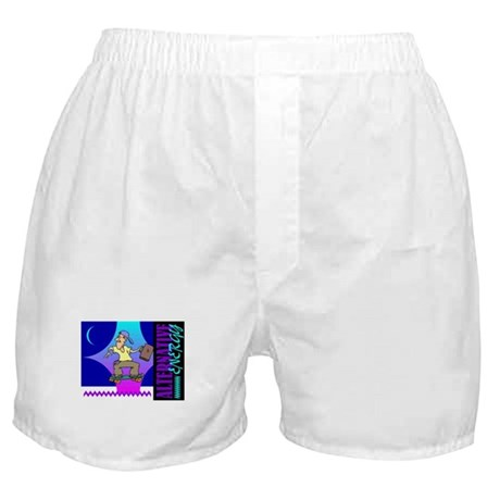 Alternate Energy Skateboard Boxer Shorts