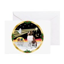 Wisemen/St Bernard #1b Greeting Cards (Pk of 20)