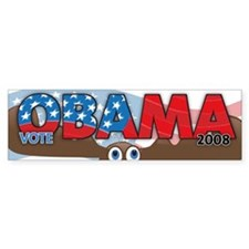 Vote OBAMA save a MOOSE Bumper Sticker (50 pk)