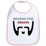 Beards for Obama Bib