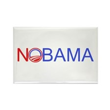 Nobama Rectangle Magnet (10 pack)