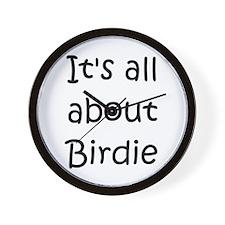 Cute Birdie Wall Clock