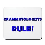 Grammatologists Rule! Mousepad