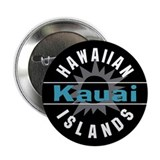 "Kauai Hawaii 2.25"" Button"