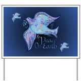 Dove of Peace Yard Sign