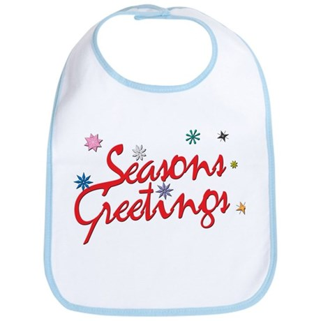 Season Greetings Bib