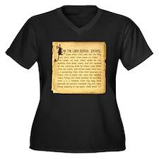 Holy Grenade Women's Plus Size V-Neck Dark T-Shirt