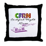 Flight Nurse Throw Pillow