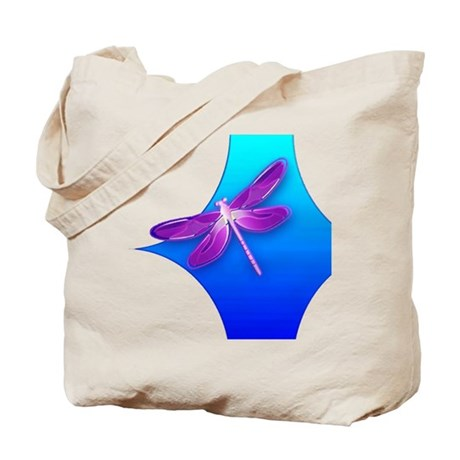 Pretty Dragonfly Tote Bag
