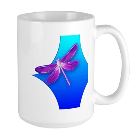 Pretty Dragonfly Large Mug