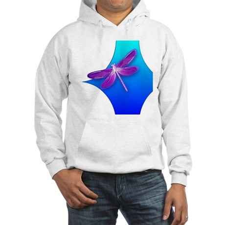 Pretty Dragonfly Hooded Sweatshirt