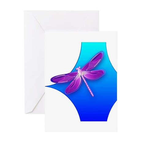 Pretty Dragonfly Greeting Card