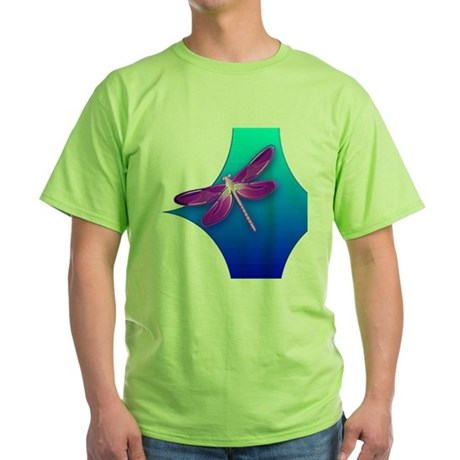 Pretty Dragonfly Green T-Shirt