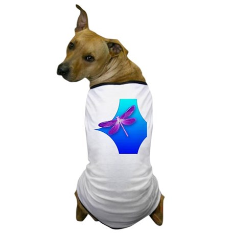 Pretty Dragonfly Dog T-Shirt