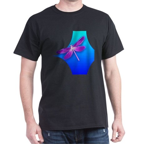 Pretty Dragonfly Dark T-Shirt