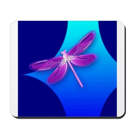 Pretty Dragonfly Mousepad