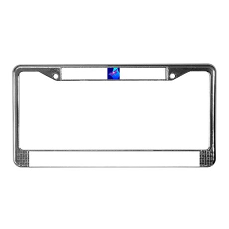 Pretty Dragonfly License Plate Frame