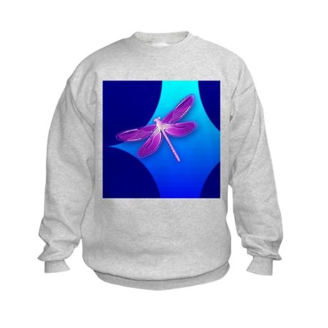 Pretty Dragonfly Kids Sweatshirt