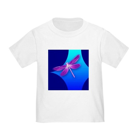 Pretty Dragonfly Toddler T-Shirt
