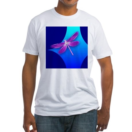 Pretty Dragonfly Fitted T-Shirt