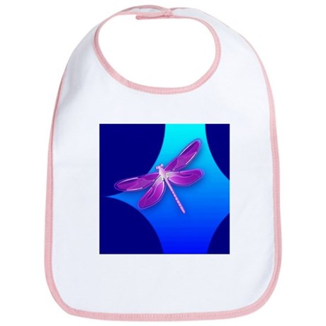 Pretty Dragonfly Bib