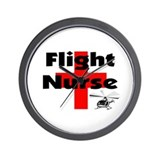 MORE Flight Nurse Wall Clock