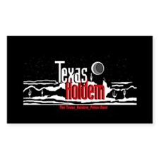Texas Holdem Rectangle Decal