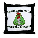 Guard Presents Throw Pillow