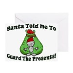 Guard Presents Greeting Card