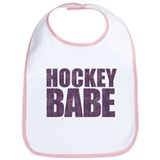 Hockey Babe Bib