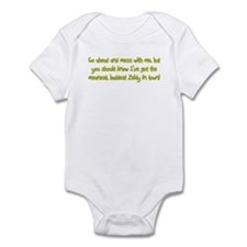 One Bad Zeidy Infant Bodysuit