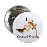 "I Love Crested Geckos 2.25"" Button"