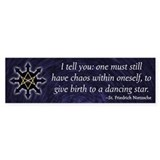 Chaosphere Bumper Sticker - English