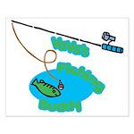 VaVa's Fishing Buddy Small Poster