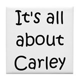 Cool Carley Tile Coaster