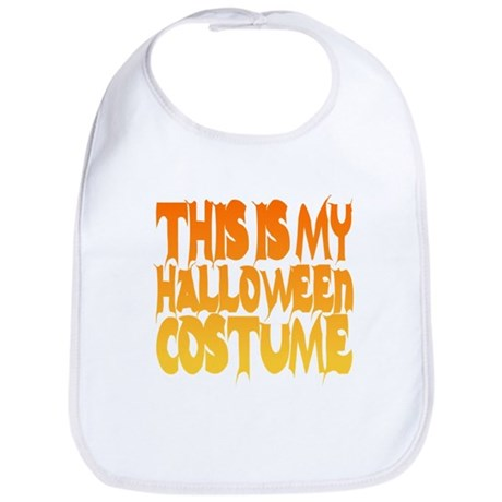 This is My Halloween Costume Bib