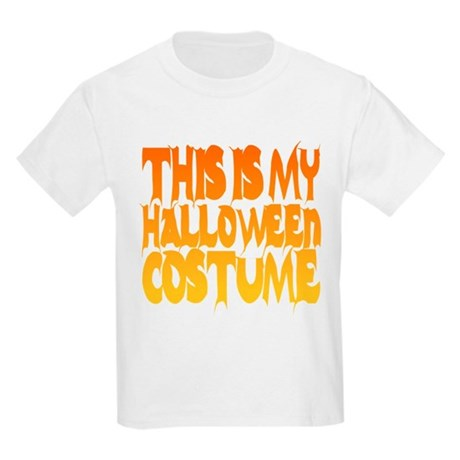 This is My Halloween Costume Kids Light T-Shirt
