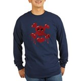 Red Skull and Crossbones T
