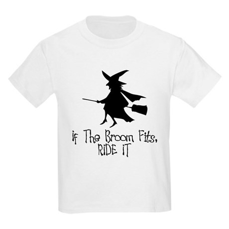 If the Broom Fits Kids Light T-Shirt
