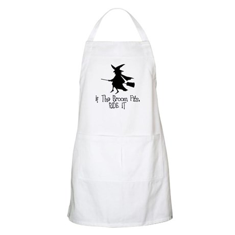 If the Broom Fits BBQ Apron