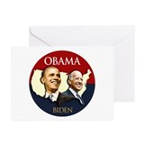 Obama/Biden USA-2 Greeting Cards (Pk of 10)