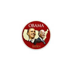 Obama/Biden USA-3 Mini Button (10 pack)