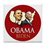 Obama/Biden USA-5 Tile Coaster
