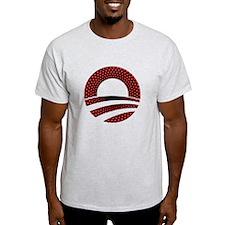 Obama Logo Red Dots T-Shirt